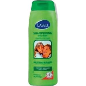 Labell shampooing très doux aux extraits de plantes cheveux normaux 400ml