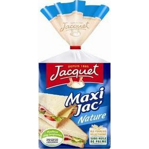 Pain blanc maxi jacquet 14 tranches 550g