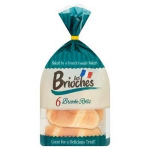 Les brioches 8 pains au lait nature 280g