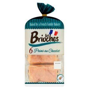 Les brioches 6 pains au chocolat 270g