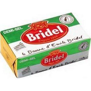 Bridel beurre demi sel 250g