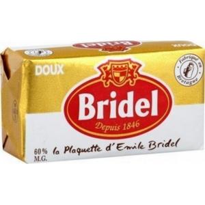Bridel beurre doux 250g