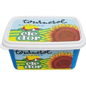 Margarine tournesol allégée clé d'or 500g