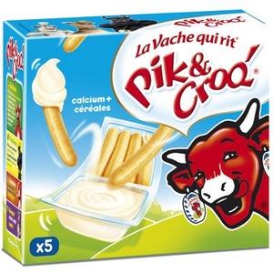 Fromage la vache qui rit pik et croq 5x35g