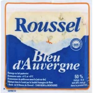 Roussel Bleu d'Auvergne 125g