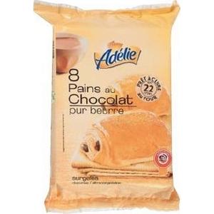 Adélie pains au chocolat x8 600g