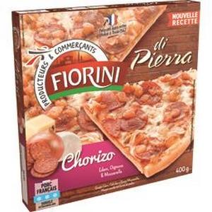 Fiorini pizza chorizo 400g