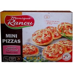 Mini pizza jambon fromage monique ranou 270g