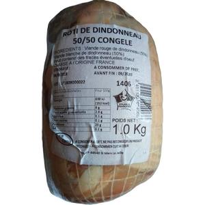 Roulé de dinde sous vide congelé 1kg