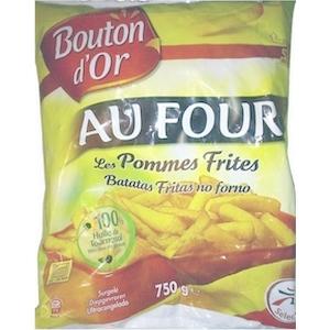 Bouton d'or frites au four 750g