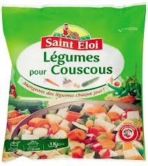 Saint éloi légumes pour couscous congelés 1kg