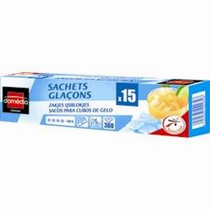 Sachets glacons x15 domédia