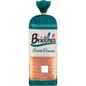 Les brioches brioche tranchée 500g