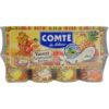 Comté yaourt aromatisé goyave goyave-vanille-ananas-coco-letchi-pêche-passion 16x125g