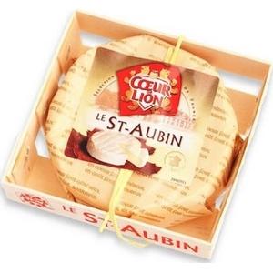 Fromage le st-aubin d'anjou cœur de lion 200g 60% m.g