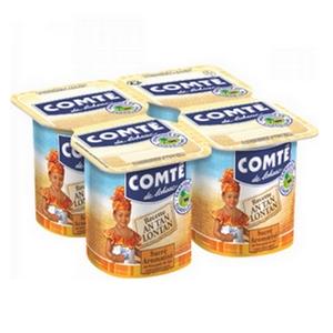 Comté yaourt nature sucré 4x125g