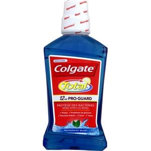 Colgate bain de bouche total 12hr pro-guard sans alcool 500ml