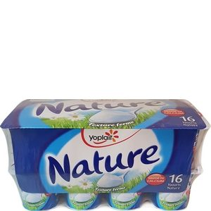 Yoplait yaourt nature 16x125g