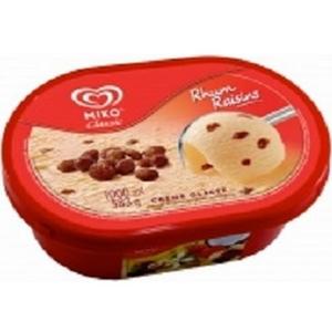 Miko glace rhum raisin 1l