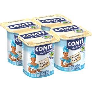 Comté yaourt nature 4x125g