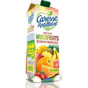Caresse antillaise nectar multifruits 8 fruits tropicaux 1l
