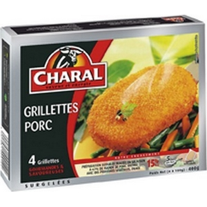 Charal grillettes de porc 4x100g