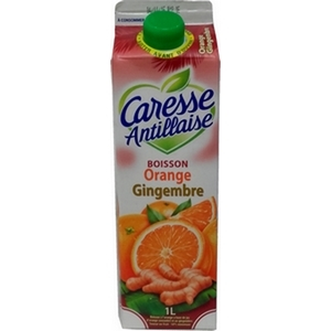 Caresse antillaise orange gingembre 1l