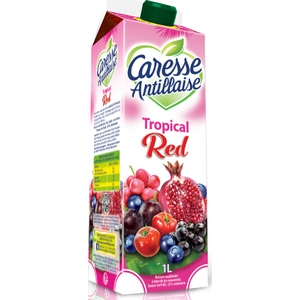 Caresse antillaise tropical red 1l