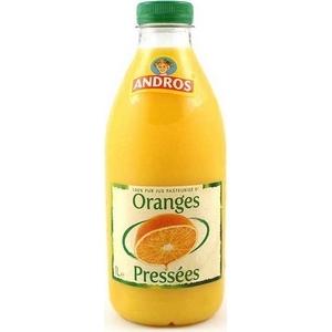 Andros jus d'oranges pressées avec pulpes 1l