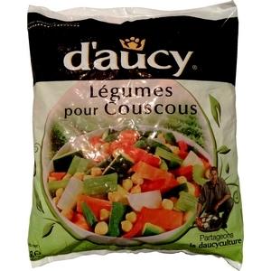 D'aucy légumes couscous congelés 1kg