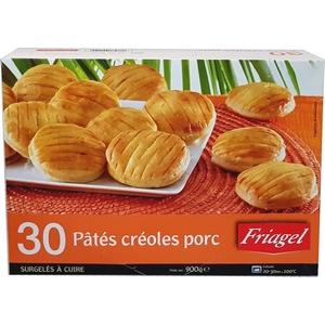 Friagel 30 pâtés créoles porc 900g