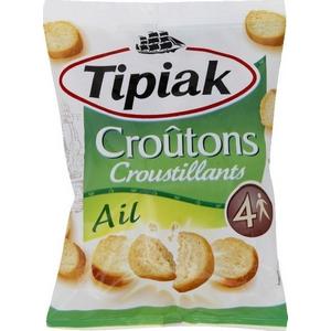 Tipiac croutons courstillants ail 90g