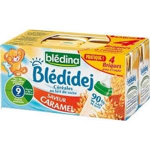 Blédidej caramel dès 9 mois 4x250ml