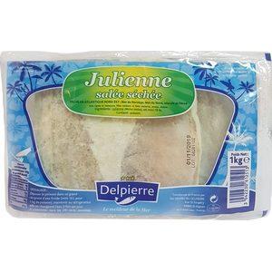 Morue salée, julienne blanche 1kg