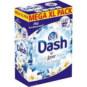 Lessive en poudre Dash bleu 110 doses