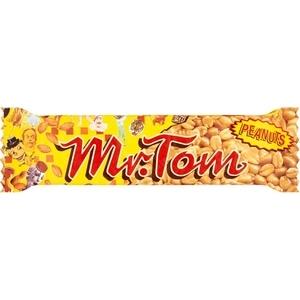 Barre de cacahuètes grillées au caramel mr. tom 40g