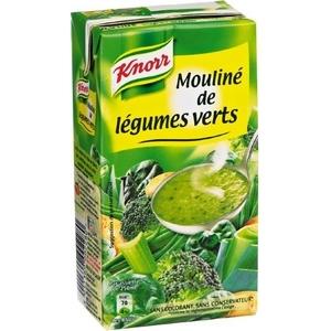 Knorr mouliné de légumes verts 1l
