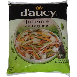 D'aucy julienne de légumes 750g