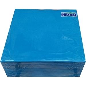 Serviettes papier 2 plis bleu turquoise 35/38/40 lot de 40
