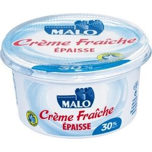 Crème fraîche épaisse malo 30% m.g. 50cl