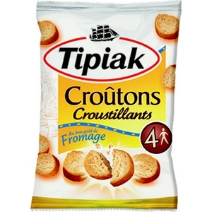 Tipiac croutons courstillants gout fromage 90g
