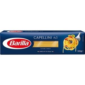 Pâtes barilla capellini n°1 500g