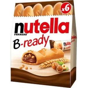 Nutella b-ready x6 132g