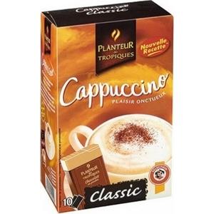Planteur des tropiques cappuccino classique 10 sticks 147g