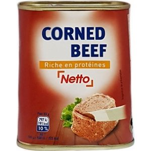 Netto corned beef 340g