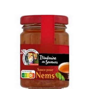 Itinéraire des saveurs sauce pour nems flacon de 90g