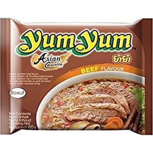 Yum Yum nouilles instantanées bœuf 60g