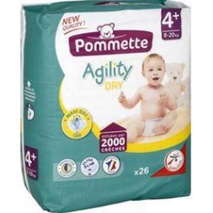 Pommette couches Agility 9-20 kg x26