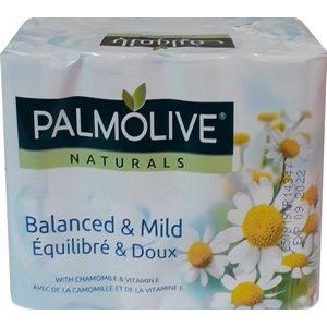 Palmolive savon de toilette camomille et vitamine 4x90g
