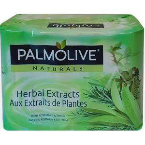 Palmolive savon de toilette herbal extraits de plantes 4x90g